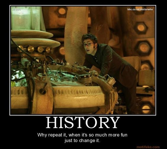 history doctor who style!