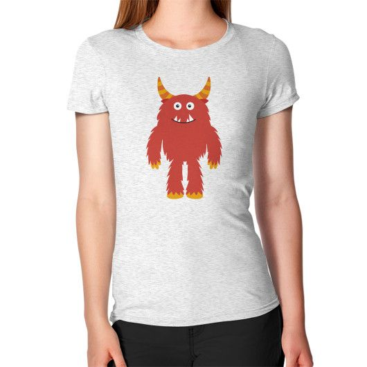 Women's T-Shirt - Monster Red