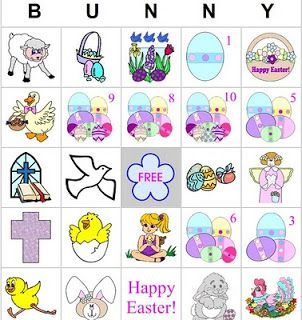 Create Your Own Easter BINGO Games