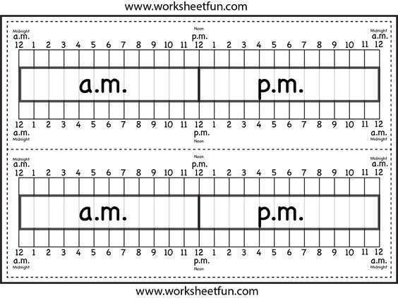Number Line Worksheets time number line worksheets : Elapsed Time Ruler Worksheet – 2 rulers on 1 worksheet | Printable ...