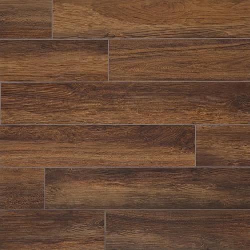 santiago marron wood plank ceramic tile