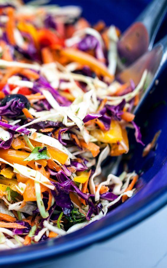 salads delicious salads scrumptious salads gf rainbow rainbow slaw ...