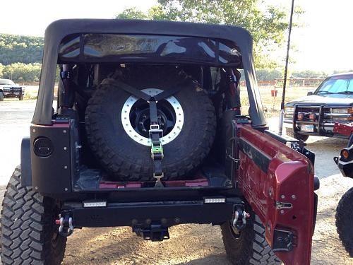 Jeep Jk Interior Spare Tire Mount Google Search In 2020 Spare