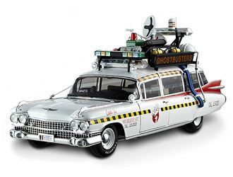 this cadillac miller meteor ecto 1a diecast model car from. Black Bedroom Furniture Sets. Home Design Ideas
