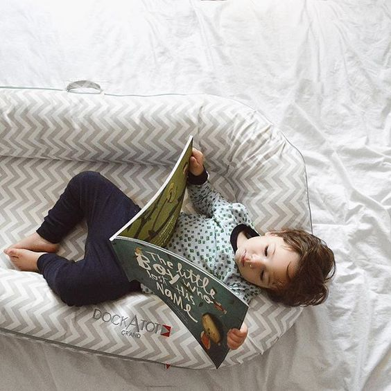 DockAtot for older kids - perfect for cozy mornings Photo: @simplymorgen