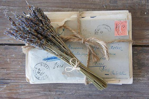 Lavandar and old letters
