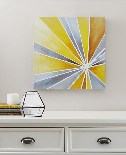 Jla Home Intelligent Design Ray Of Sunshine Gel Coated Canvas Print Reviews Wall Art Macy S In 2020 Diy Canvas Wall Art Cross Paintings Canvas Prints