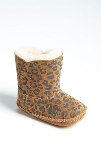 UGG® Australia 'Cassie' Leopard Print Boot (Baby & Walker) available at
