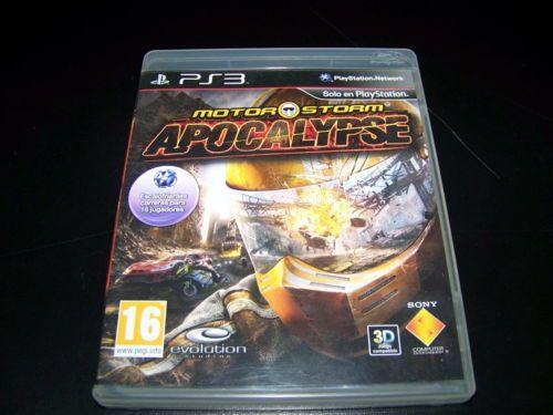 Juego Para Play 3 Playstation MOTOR STORM Apocalypse Juego en 3D Buen estado!