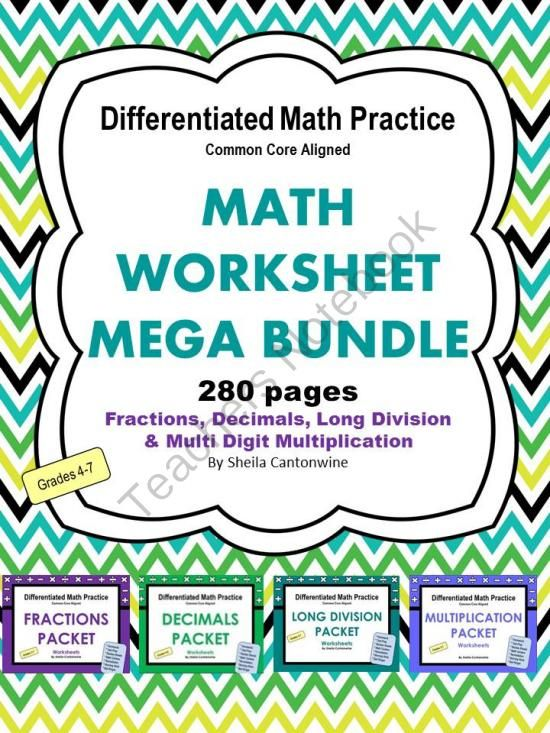 Differentiated Maths Worksheets Choice Image - worksheet for kids ...