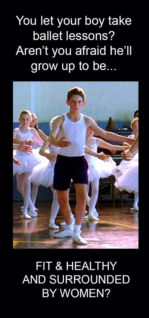 Dunno why so few straight males want to be a dancer, they are so rare...
