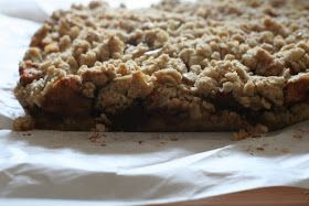 Healthy Eating for Ordinary People: Oatmeal Apple Pie Bars (Secret Recipe Club)