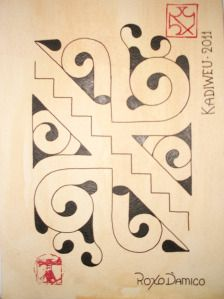 grafismo Kadiwéu
