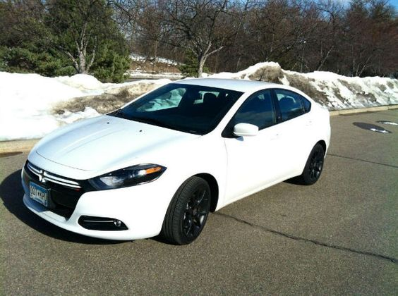 2013 Dodge Dart Rallye White
