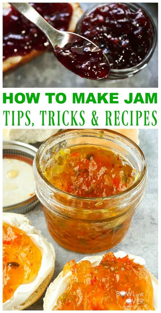 Make the BEST Homemade Jams and Jellies!