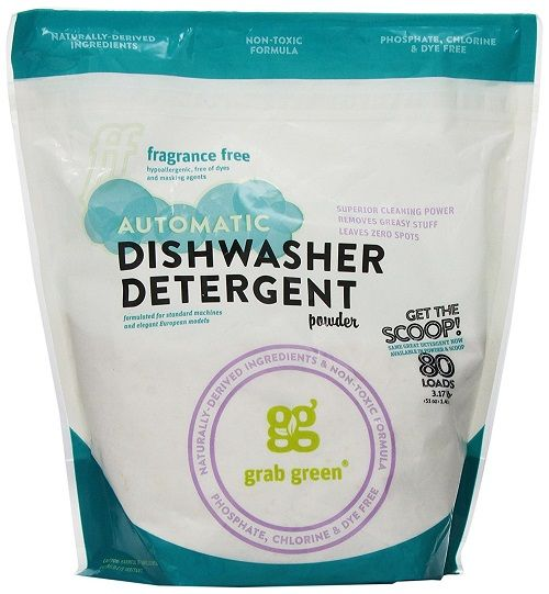 Grab Green Natural Automatic Dishwashing Detergent Powder Best Dishwasher Detergent Natural Dishwasher Detergent Fragrance Free Products