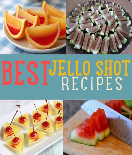 Jello Shot Recipes, Jello Shots And