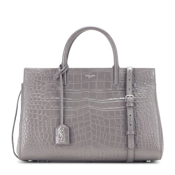 ysl clutch new collection - Saint Laurent - Cabas Rive Gauche Medium embossed leather tote ...