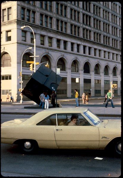 NYC - Astor Place - 1980