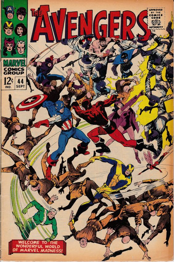 Avengers 1963 1st Series 44 September 1967 Issue by ViewObscura, $13.00