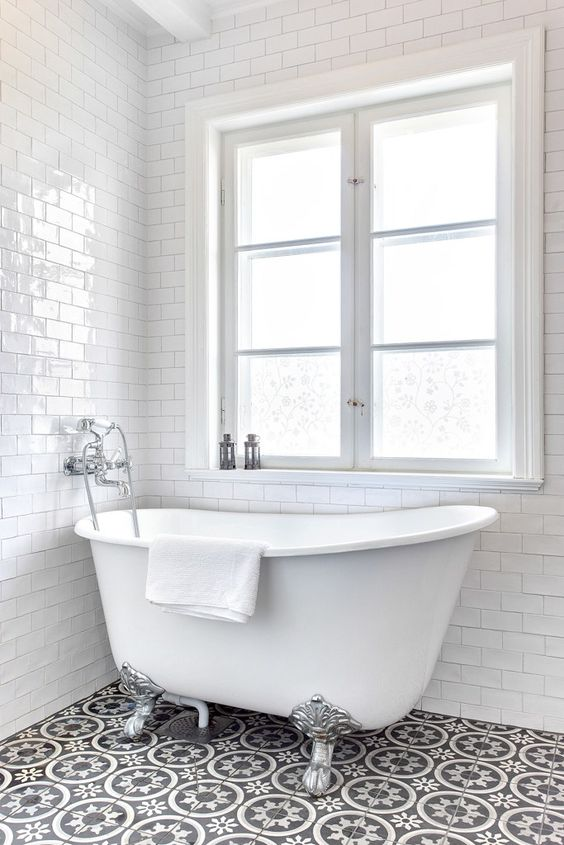 Badrum med badkar | Badrum | Pinterest