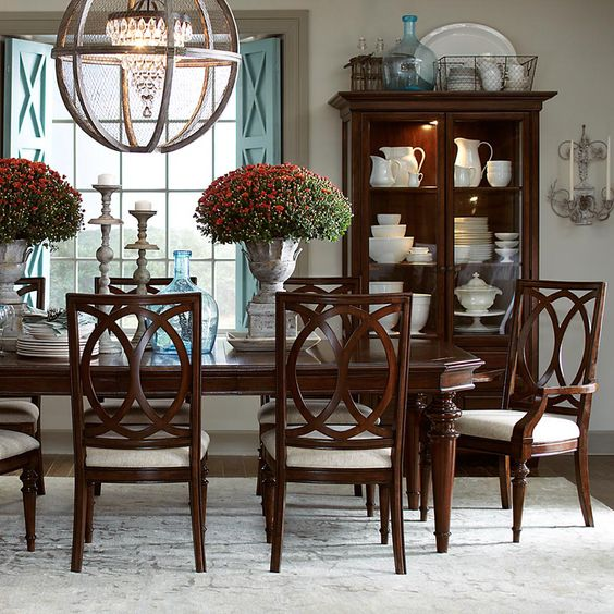 Vintage Dining Room Tables: Follow The Yellow Brick Home
