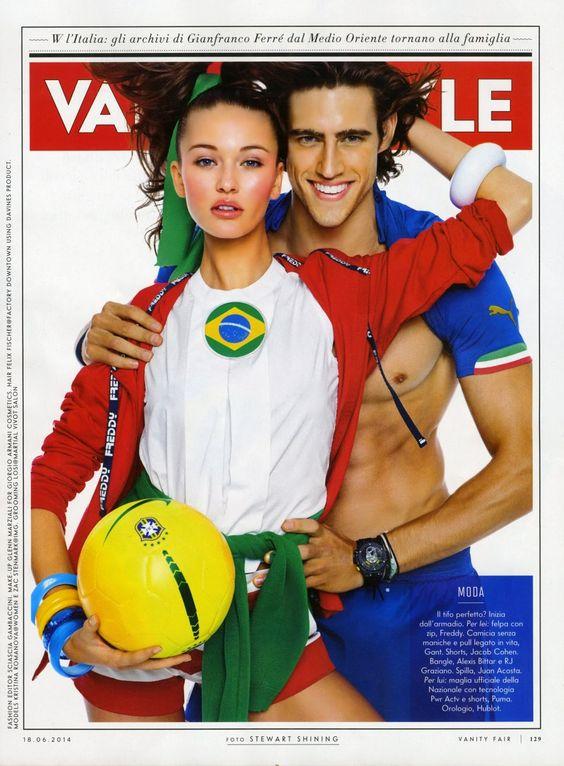 Kristina Romanova Vanity Fair Italia June 2014