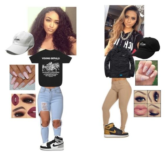 """""""💎Representing G Eazy💎 💋Lana💋 & ✨Ashley✨"""" by geazybxtch24 ❤ liked on Polyvore featuring beauty and Retrò"""