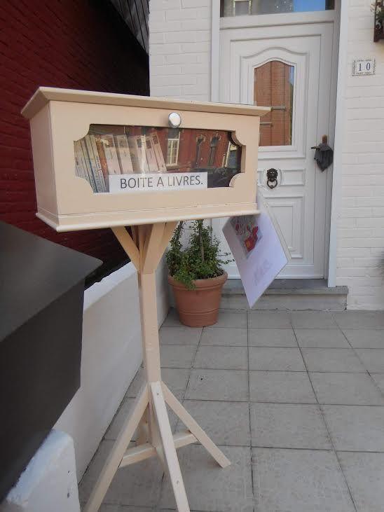 Boîte à livres Charleroi 2