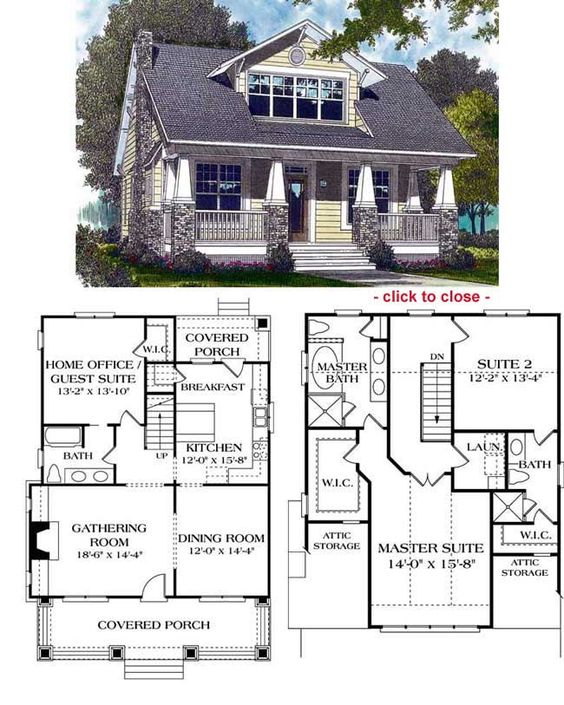 Bungalow Floor Plans | Bungalow Style Homes | Arts and Crafts Bungalows: