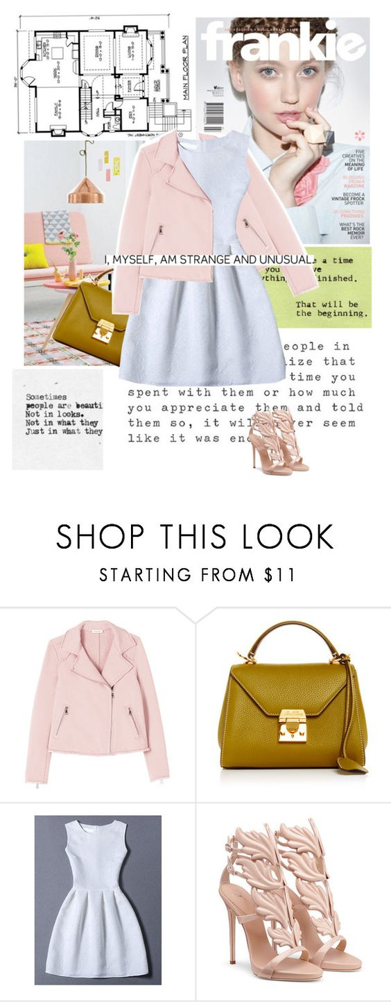 """""""Untitled #647"""" by flavia-hajna ❤ liked on Polyvore featuring Craftsman, Rebecca Taylor and Mark Cross"""