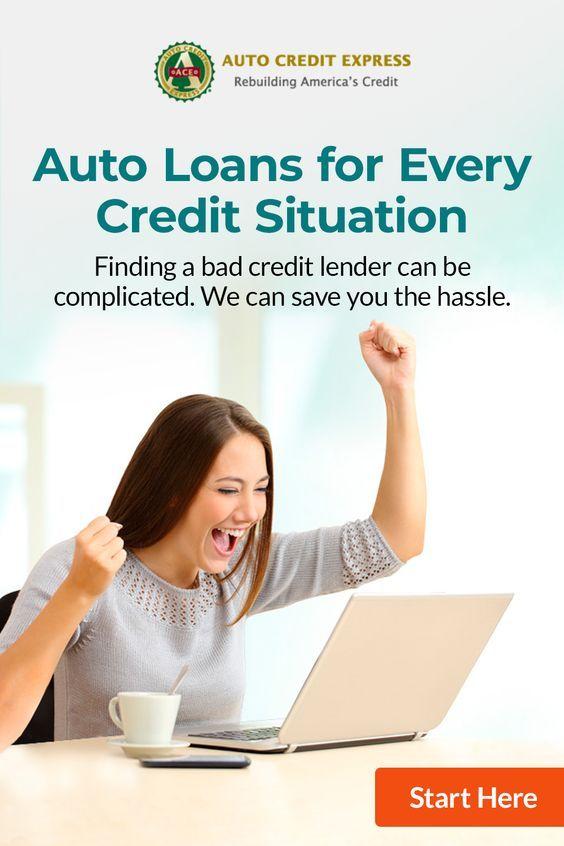 Bad Credit No Credit Bankruptcy Any Credit Car Loans Bad Credit Payday Loans