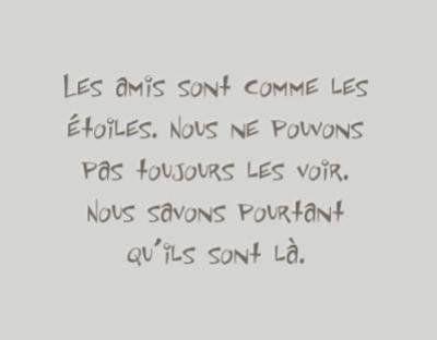 Citation sur les Amis♥♥