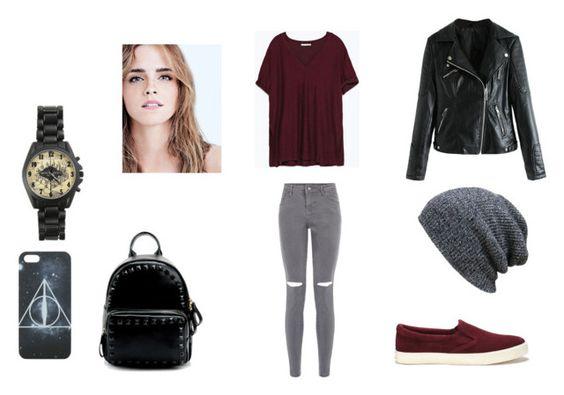 """back to school"" by chaimae-megherbi on Polyvore featuring mode, Zara et Lauren Ralph Lauren"