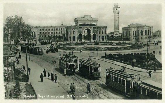 Beyazid meydani,1940 lar