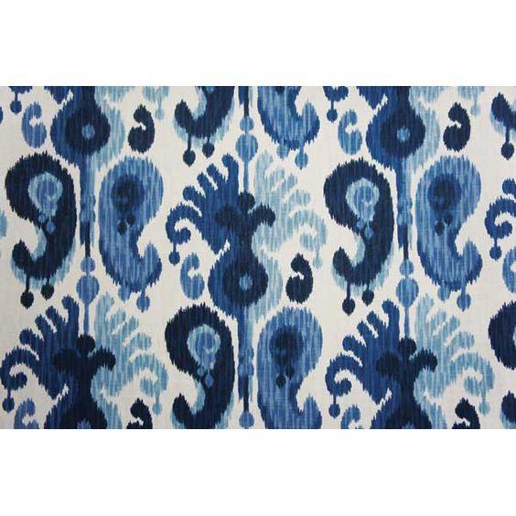 Paisley, Ikat, Kilim, and Southwestern Style Prints