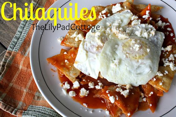 Chilaquiles recipe: Food Recipes, Breakfast Brunch Recipes, Chilaquiles Recipes, Dinner Recipes, Food Drinks Snacks Recipes, Mexican Recipes, Recipes Mexican Breakfast, Favorite Recipes