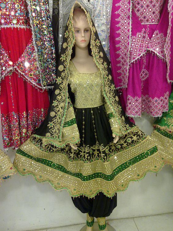 Afghaanse wedding dress