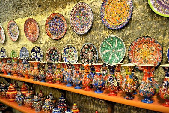 A beleza das cerâmicas turcas. foto: reprodução