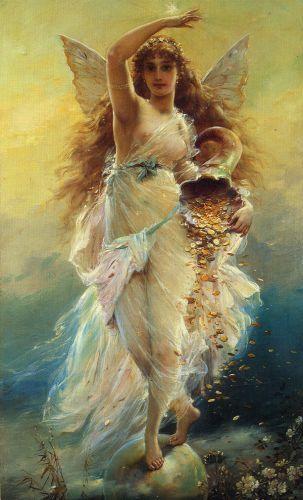 Tema da Pintura: Anjos!:
