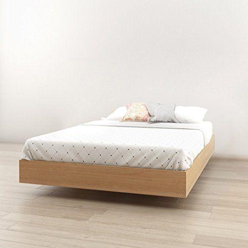 Nordik Full Size Platform Bed Natural Maple Full Platform Bed