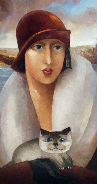 Zoya Chernakov (b1950 Moscow, Russia) aka Lissi Mussa (Лисси Мусса)