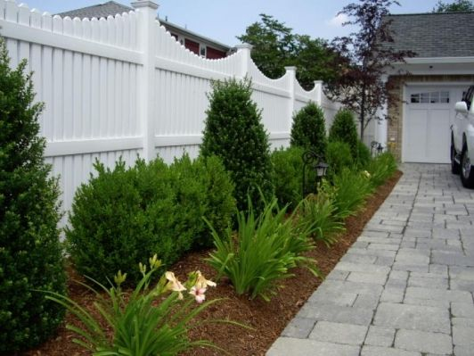 vinyl fence home and garden design idea 39 s fencing and
