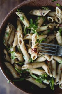 Penne Pasta Salad with Olive Tapenade, Fresh Herbs