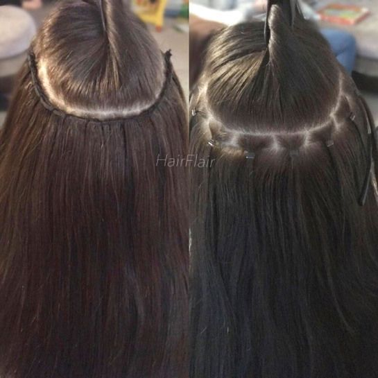 Terrific No Cost Hairextensions Microlink Hair Extensions Hairextensions Con In 2020 Diy Hair Extensions Sew In Hair Extensions Hair Extensions For Short Hair