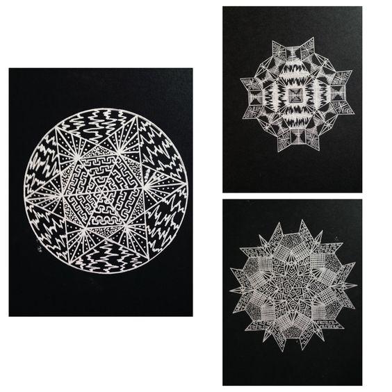 "White pen ""Mathomat"" Creations"