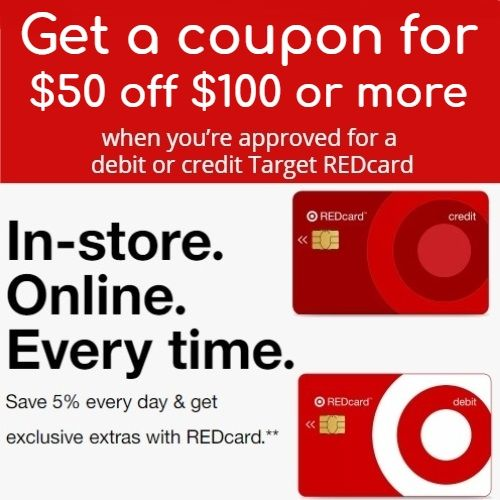 Target Redcard 40 Off 40 Target Coupon When You Are Approved Target Coupons Target Target Gift Cards