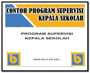 Contoh Program Supervisi Kepala Sekolah Format Words Docx Sekolah Kepala Sekolah Ekstrakurikuler
