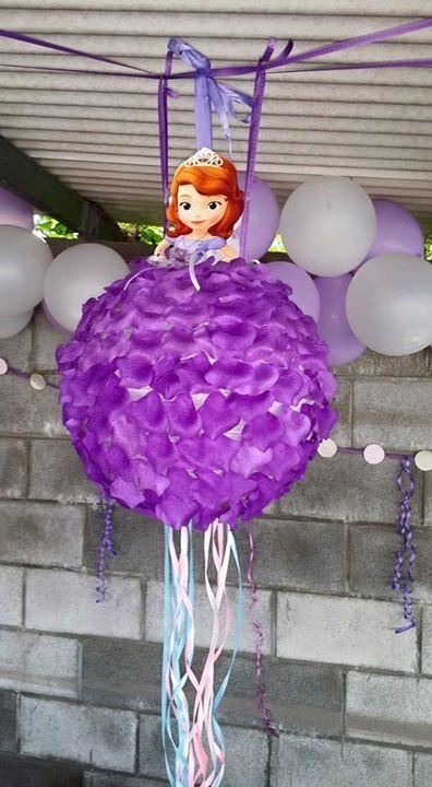 Pinata Princesse Sofia Happy Birthday Ma Princess