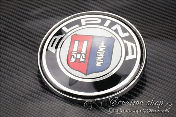 Aliexpress Com Buy High Quality Modified 82mm Alpina Emblem With 2 Pins Car Badge 51148132375 Free Shipping From Reli Car Badges Car Windshield Wipers Alpina